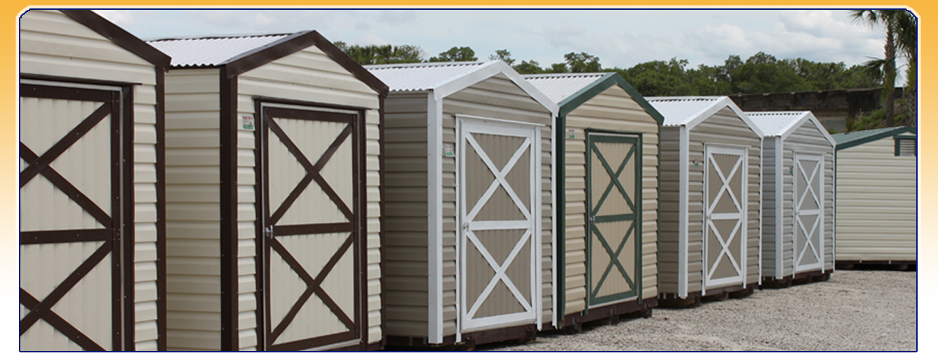 West Volusia Sheds